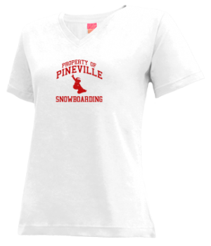 Women's Pineville High School Rebels Apparel