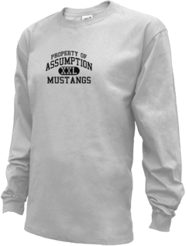Kids Assumption High School Mustangs Apparel