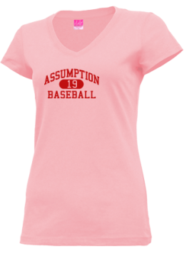 Junior Girls Assumption High School Mustangs Apparel