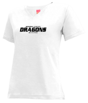 Women's Sonoma Valley High School Dragons Apparel