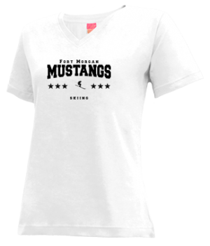 Women's Fort Morgan High School Mustangs Apparel