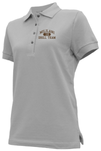 Women's Mililani High School Trojans Embroidered Polo Shirts