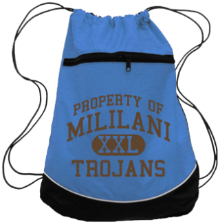 Trojans Drawstring Back Packs