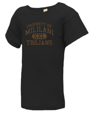 Junior Girls Trojans  T-Shirts