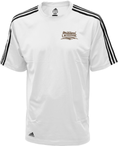 Men's Mililani High School Trojans Embroidered Adidas Golf ClimaLite® Shirt