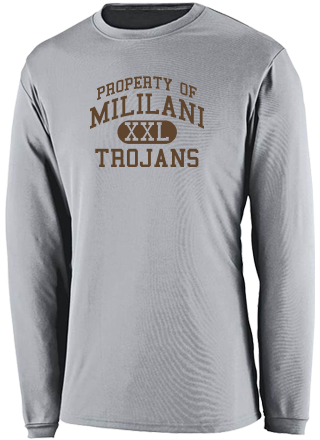Men's Trojans  Performance Long Sleeved Crew