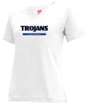 Women's Durham High School Trojans Apparel