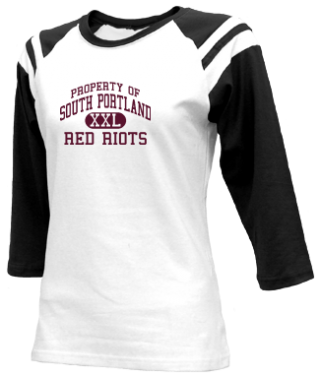 Junior Girls Red Riots  Raglan Shirts