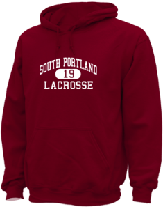 Women's South Portland High School Red Riots  Hooded Sweatshirts