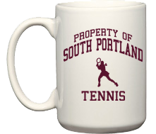 Women's South Portland High School Red Riots Coffee Mugs (15oz)
