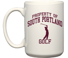 Women's South Portland High School Red Riots Mugs & Bottles