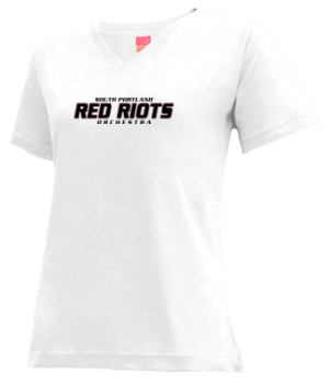 Women's South Portland High School Red Riots Apparel