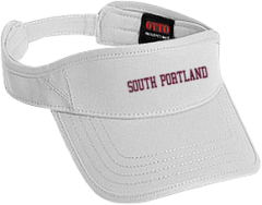 Women's South Portland High School Red Riots Embroidered Visors