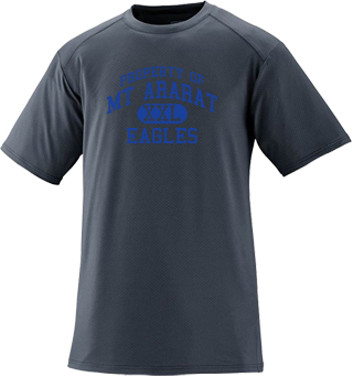 Men's Eagles Short Sleeved Performance Mesh Crew