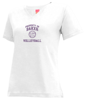 Women's Baker High School Bulldogs Apparel