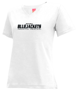 Women's Mitchell High School Bluejackets Apparel