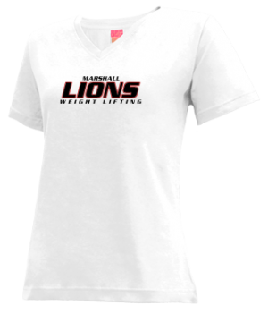 Women's Marshall High School Lions Apparel