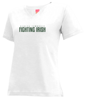 Women's Seneca Township High School Fighting Irish Apparel