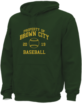 Men's Brown City High School Green Devils Apparel