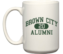 Brown City High School Green Devils Coffee Mugs (15oz)