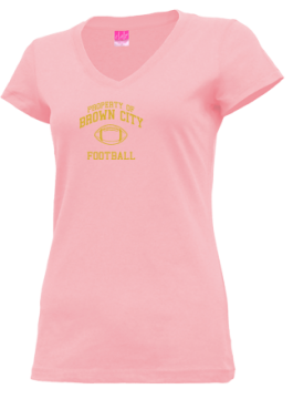 Junior Girls Brown City High School Green Devils Apparel