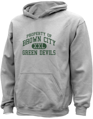 Kids Green Devils  Hooded Sweatshirts