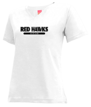 Women's Cass City High School Red Hawks Apparel