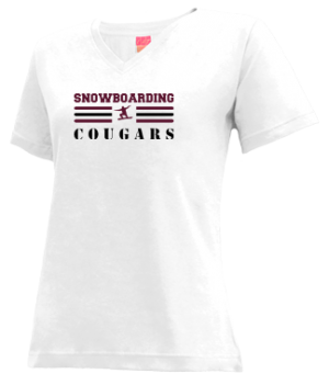 Women's Tohatchi High School Cougars Apparel