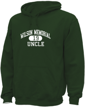 Men's Wilson Memorial High School Green Hornets Apparel