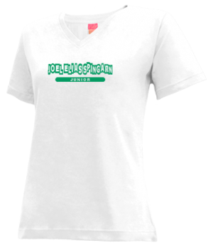 Women's Joel Elias Spingarn High School Green Wave Apparel