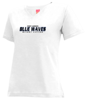 Women's Port Gibson High School Blue Waves Apparel