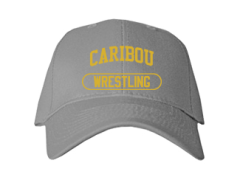 Men's Caribou High School Vikings Embroidered Baseball Caps