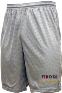 Women's Caribou High School Vikings  Mesh Shorts