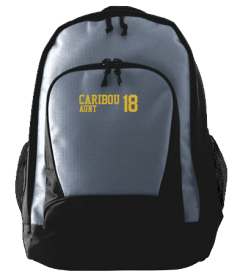 Caribou High School Vikings Embroidered Ripstop Backpacks