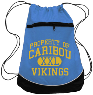 Vikings Drawstring Back Packs