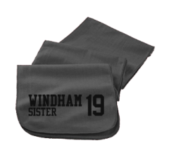 Men's Windham High School Eagles Embroidered Scarfs