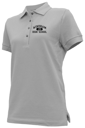 Women's Eagles Embroidered Polo Shirts