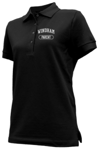 Women's Windham High School Eagles Embroidered Polo Shirts
