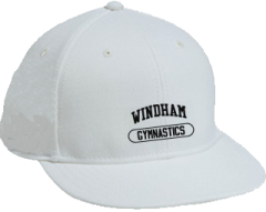 Men's Windham High School Eagles Embroidered Flat Bill Caps