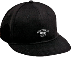 Women's Windham High School Eagles Embroidered Flat Bill Caps