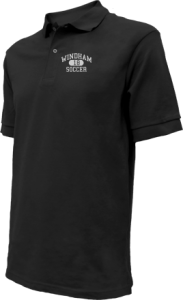 Men's Windham High School Eagles Embroidered Polo Shirts