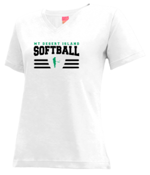 Women's Mt Desert Island High School Trojans Apparel