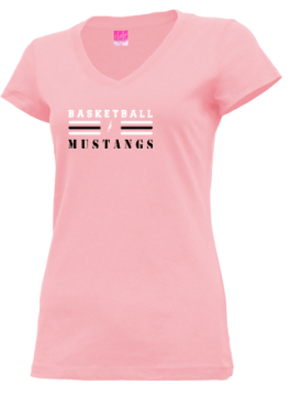 Junior Girls Mt View High School Mustangs Apparel