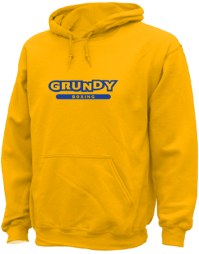Men's Grundy High School Golden Wave Apparel