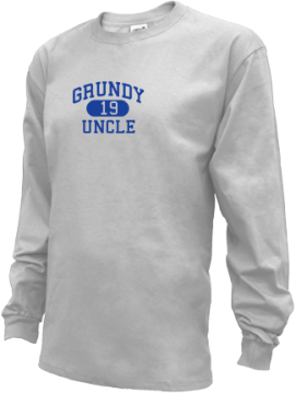 Kids Grundy High School Golden Wave Apparel