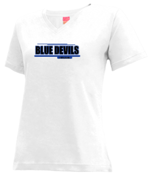Women's Mathews High School Blue Devils Apparel
