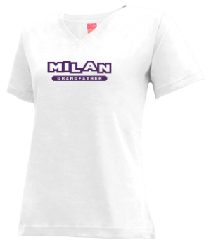 Women's Milan High School Bulldogs Apparel