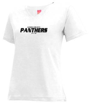 Women's Lewis County High School Panthers Apparel
