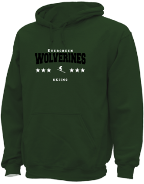 Men's Evergreen High School Wolverines Apparel