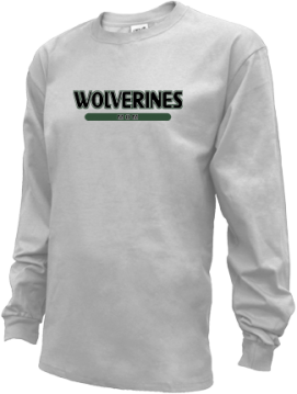 Kids Evergreen High School Wolverines Apparel